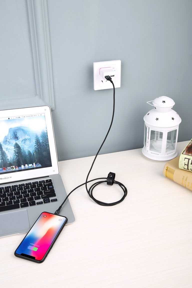 CÁP INNOSTYLE DURAFLEX 1.5M USB-A TO LIGHTNING MFI IPHONE/IPAD/IPOD