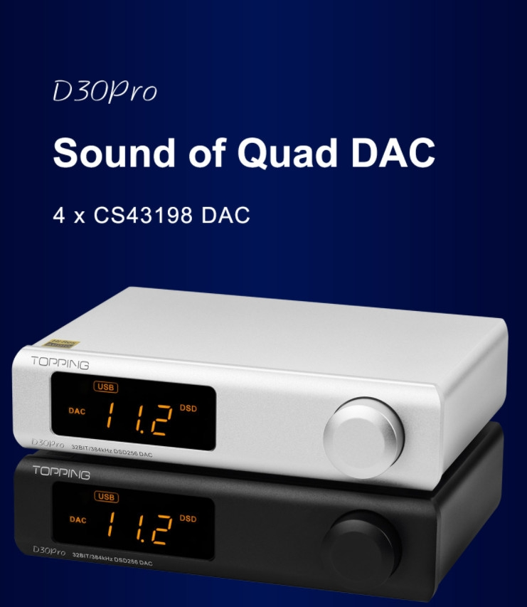 Dac/amp Topping D30 Pro