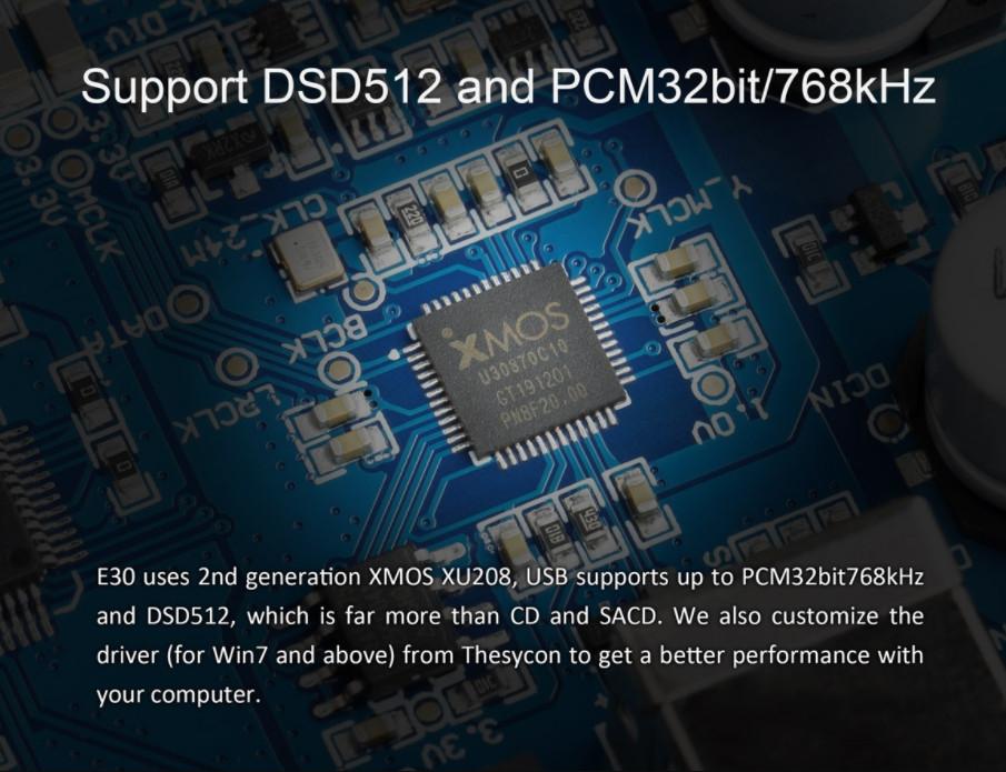 Dac/amp Topping E30