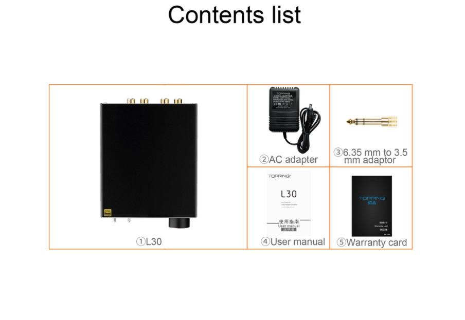 Dac/amp Topping L30