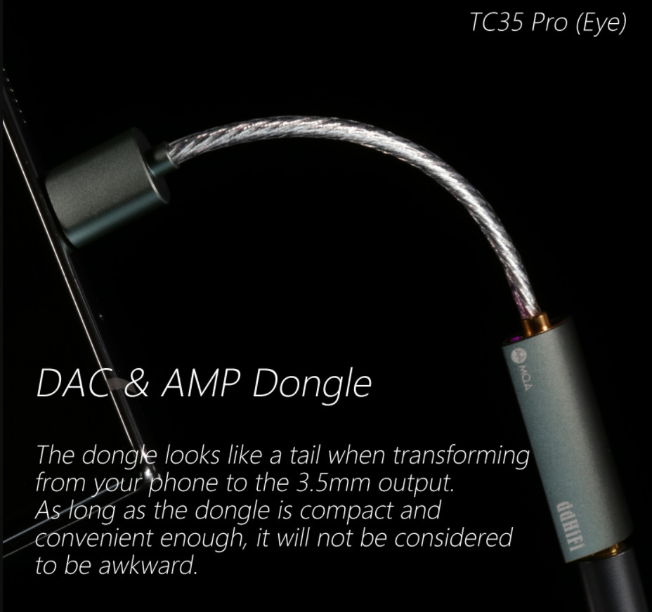 Dac ddHiFi TC35 Pro Eye