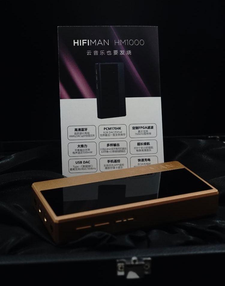 Đánh Giá DAC/Amply HIFIMAN HM1000 mới