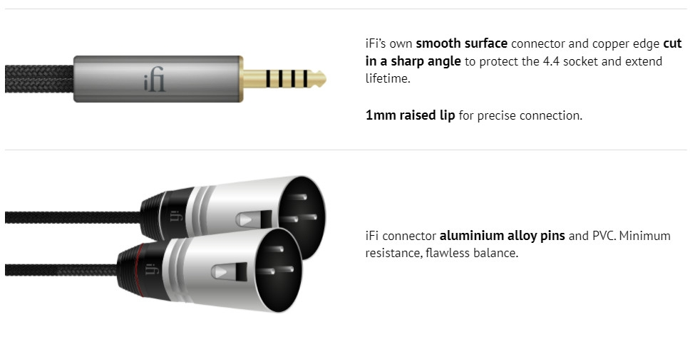 Dây cáp iFi 4.4mm to XLR