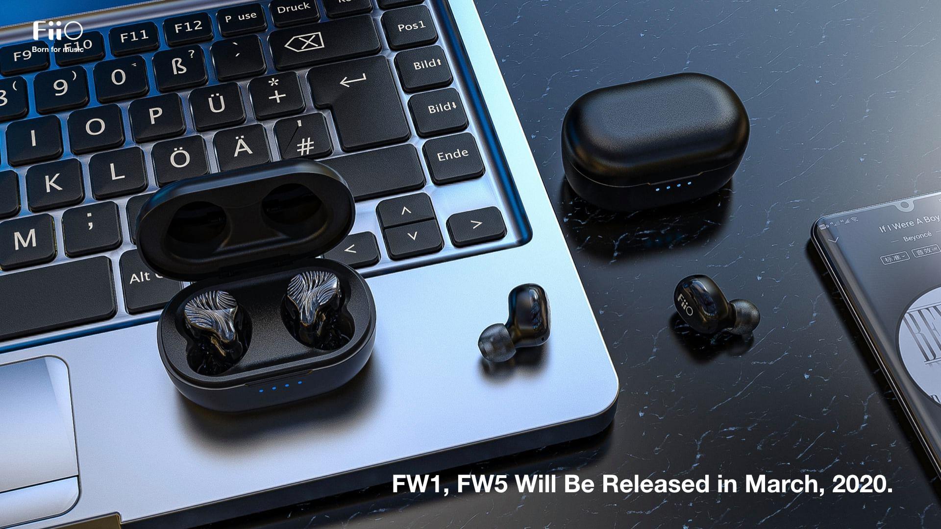 FiiO FW1 Và FiiO FW5 - Tai Nghe True Wireless mới của Fiio
