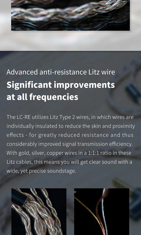 Fiio giới thiệu LC-RE Tri-Metallic chuyển đổi jack cắm tai nghe MMCX/0.78mm phù hợp FiiO/Shure