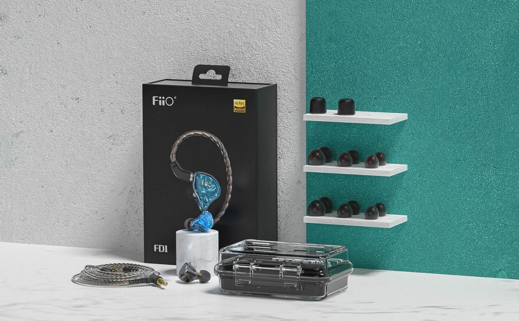 FiiO ra mắt tai nghe FD1: Mẫu tai nghe Hi-Res rẻ nhất của Fiio khoảng 1,3 triệu