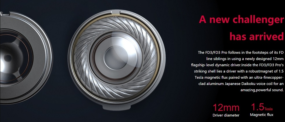 FiiO ra mắt tai nghe FiiO FD3 và FiiO FD3 Pro