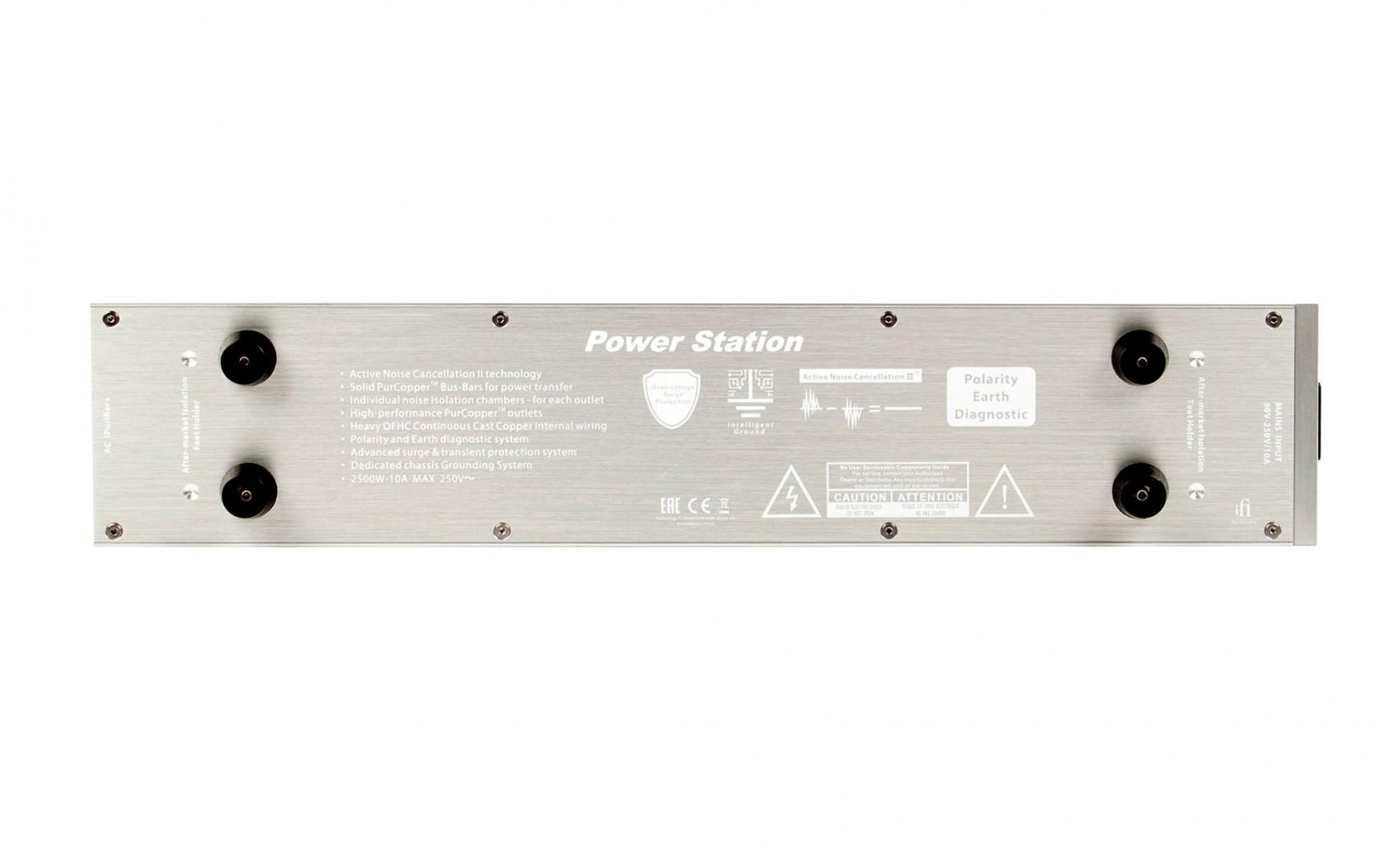 iFi ra mắt ổ cắm điện lọc nguồn cao cấp Power Station dành cho các dàn âm thanh High-End