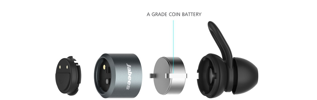 Jabees BTwins Bluetooth Stereo True Wireless Earbuds