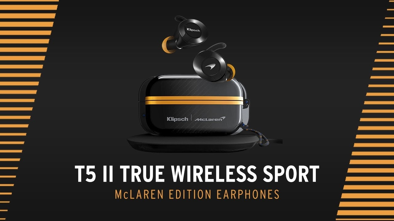 Klipsch T5 II True Wireless Earphones Mclaren