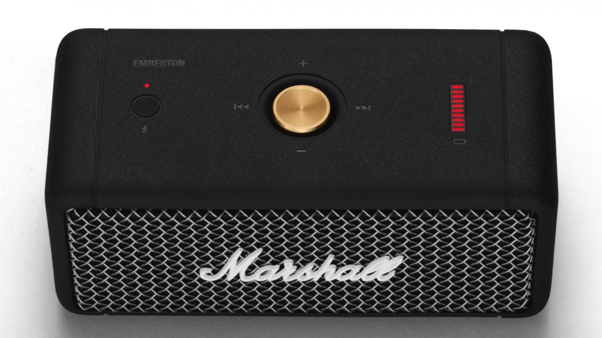 Marshall giới thiệu loa di động Emberton, âm thanh 360