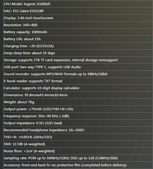 Máy nghe nhạc Fiio M3 Pro
