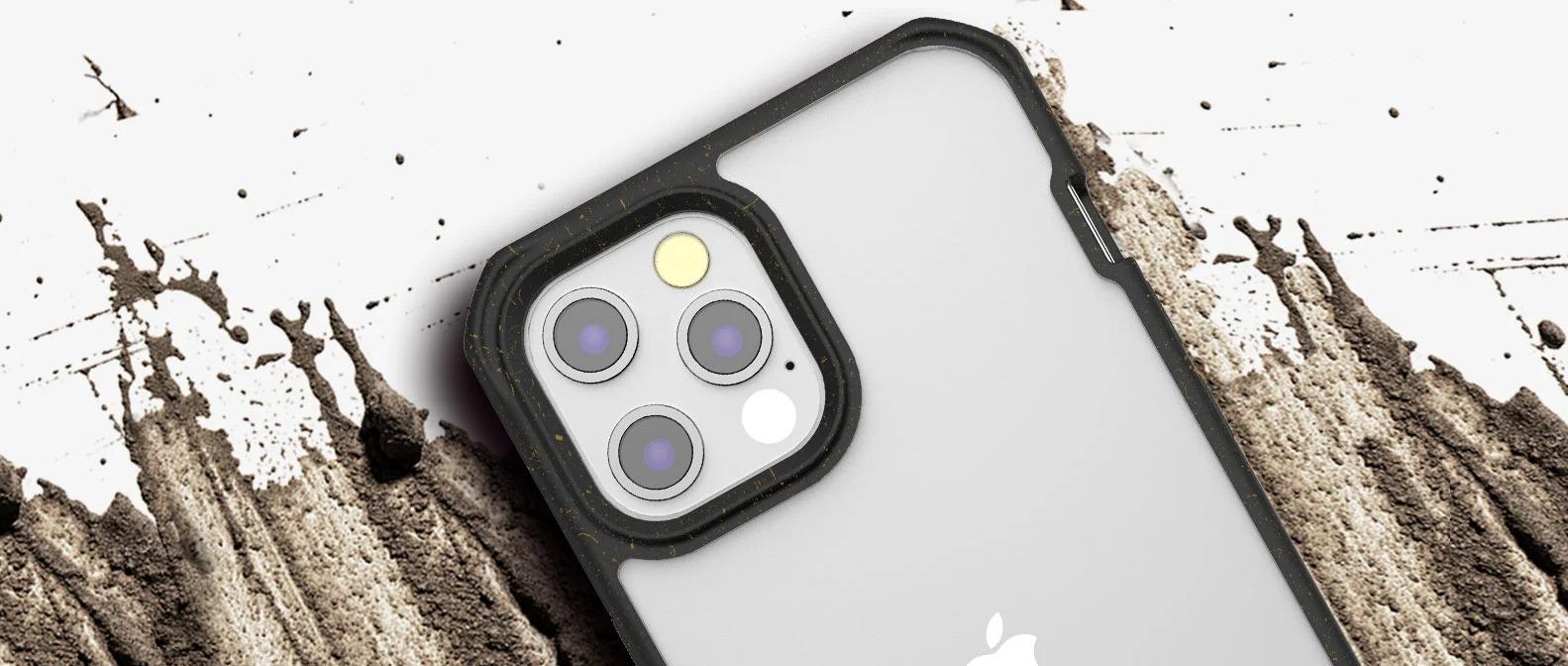 Ốp lưng ITSKINS (Pháp) Feroniabio Pure Drop Safe cho iphone 12