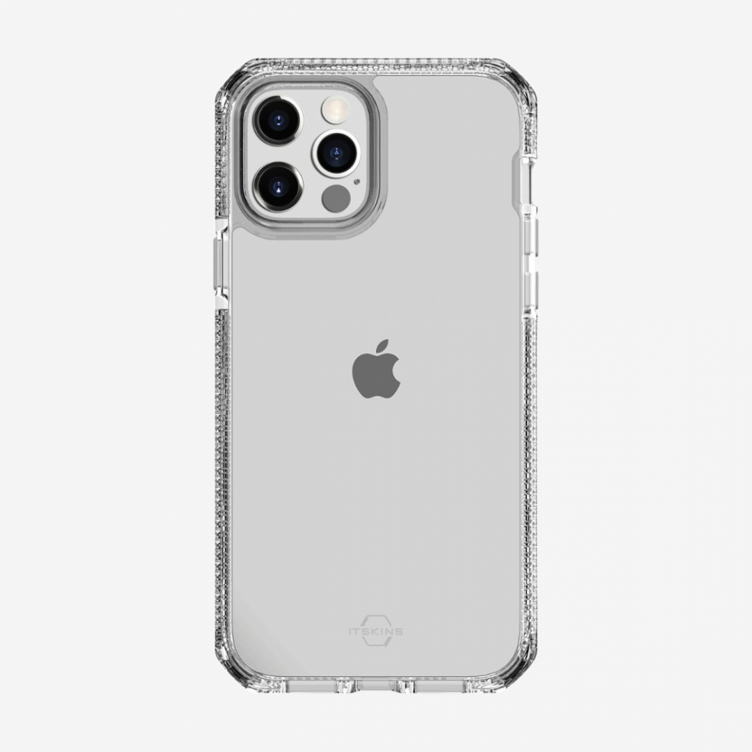 Ốp lưng itskins (Pháp) Supreme clear drop safe cho iphone 12