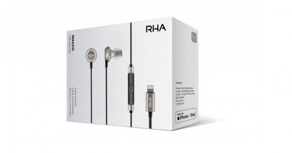 RHA giới thiệu phiên bản MA650i Lightning