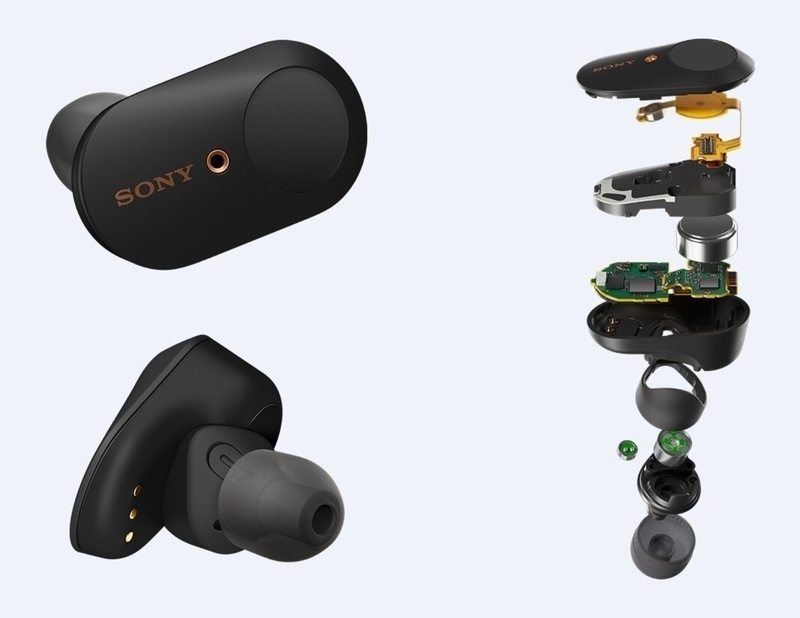 Sony công bố tai nghe không dây, chống ồn WF-1000XM3 true wireless