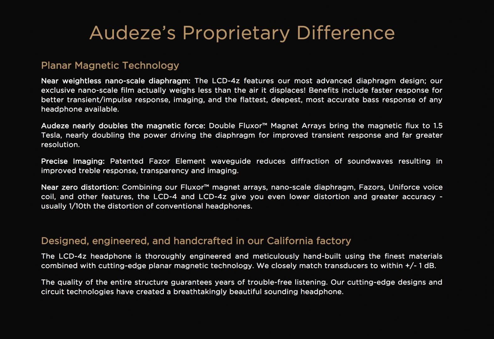 Tai Nghe Audeze LCD-4z