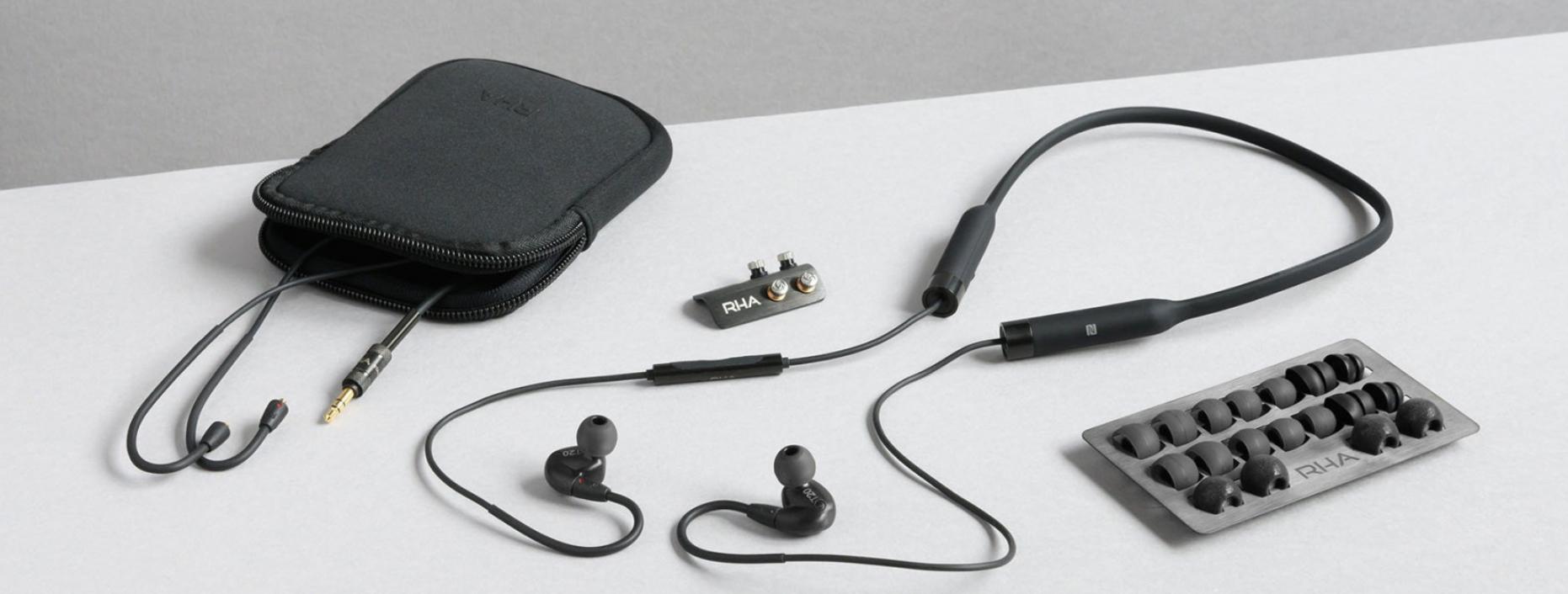 Tai Nghe RHA T20 Wireless mới, có độ trung thực cao với công nghệ DualCoil ™