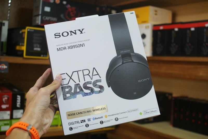 Tai Nghe Sony MDR-XB950N1 Noise Cancelling
