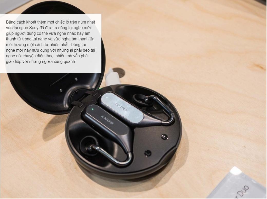 Tai nghe Sony Xperia Ear Duo