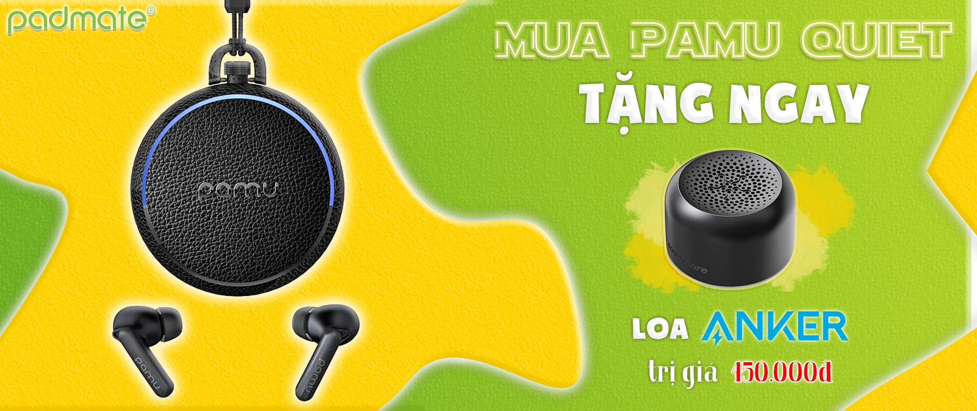 Tai nghe true wireless Pamu Quiet