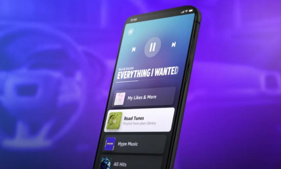 Amazon Music ra mắt ứng dụng nghe nhạc trên xe hơi