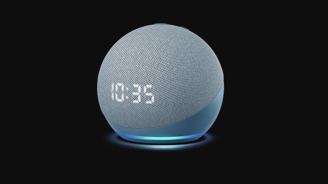 Amazon ra mắt Echo hình cầu, Echo Dot, Dot with Clock và Echo Show 10 loa thông minh