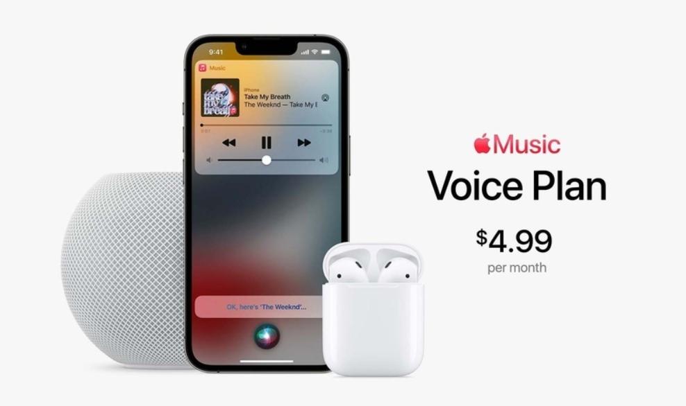 Apple Music giá rẻ hơn 50% với gói Voice Plan dịch vụ stream nhạc