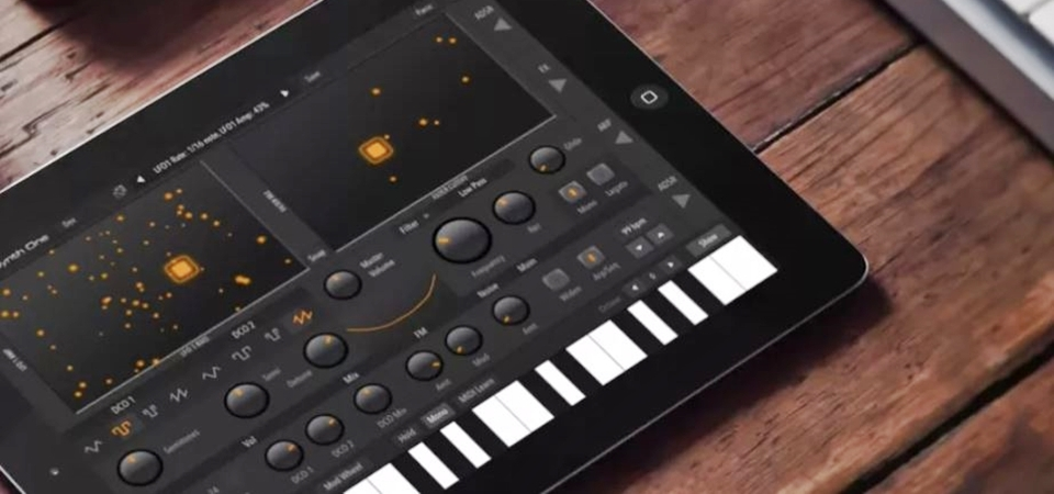 AudioKit Synth One – chỉnh nhạc chuyên nghiệp chỉ bằng chiếc iPad