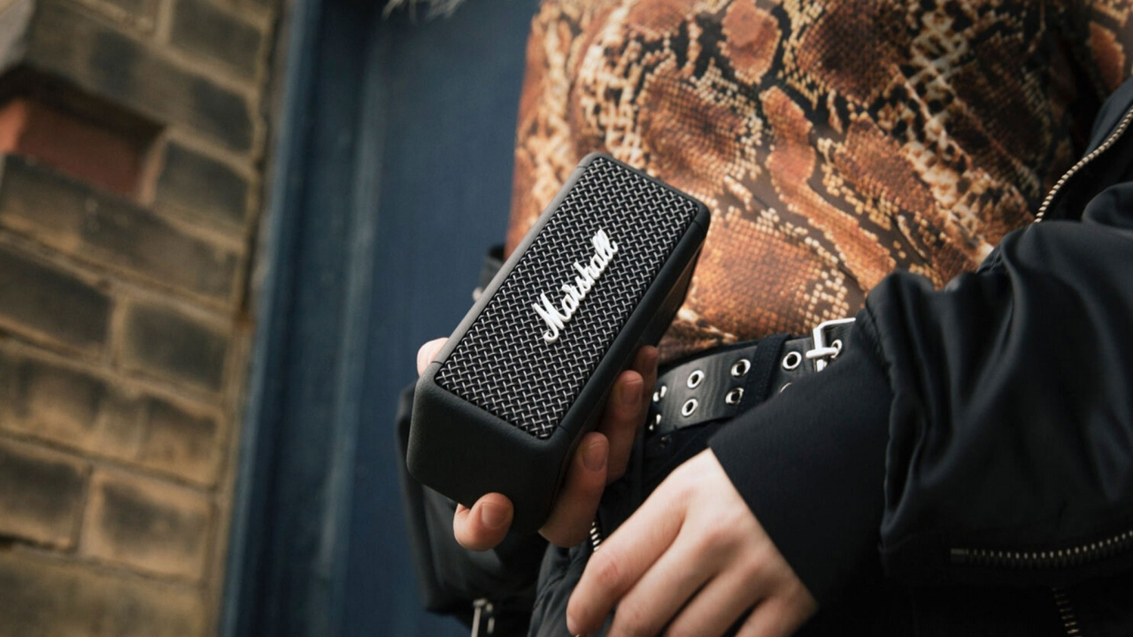 Marshall giới thiệu loa di động Emberton, âm thanh 360, kích thước siêu nhỏ