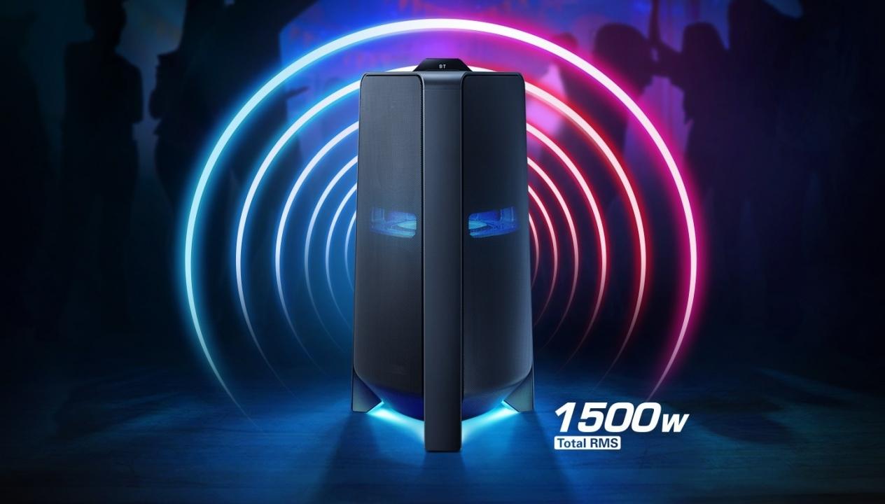 Samsung giới thiệu Loa Cột - Sound Tower đầu tiên tại Việt Nam