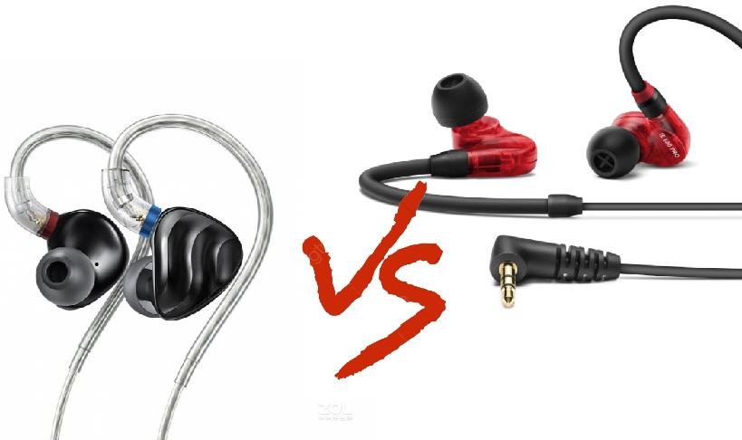 So sánh tai nghe Fiio FH3 vs tai nghe Sennheiser IE100 Pro