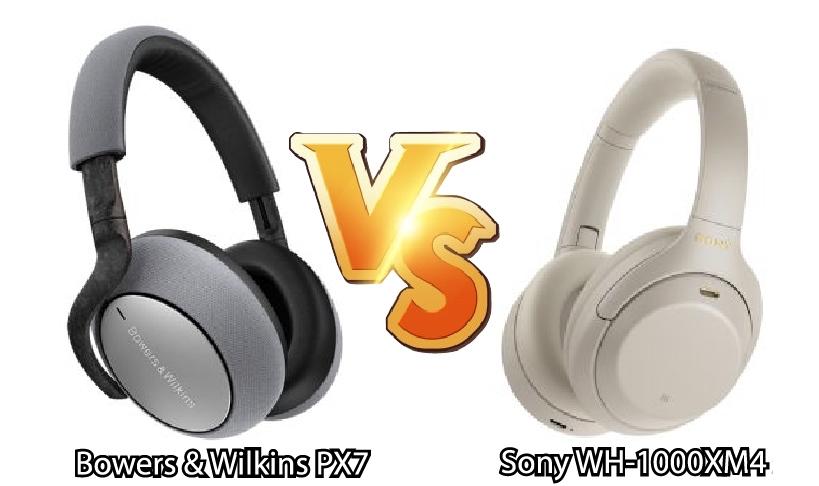 Sony WH-1000XM4 so với Bowers & Wilkins PX7: Cái nào tốt hơn?
