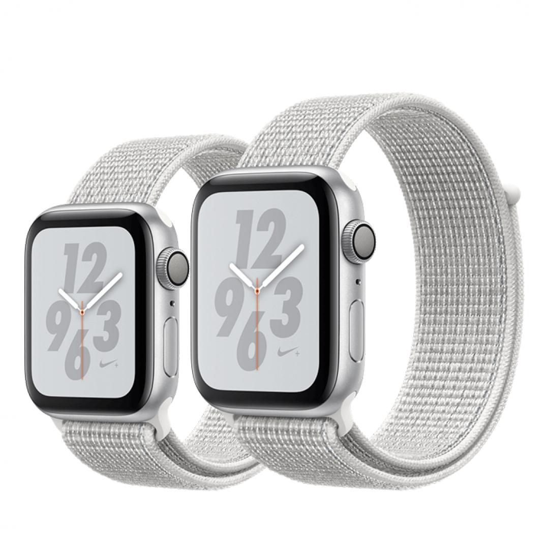 Apple Watch Series 4 Nike+ Aluminum Case with Sport Loop