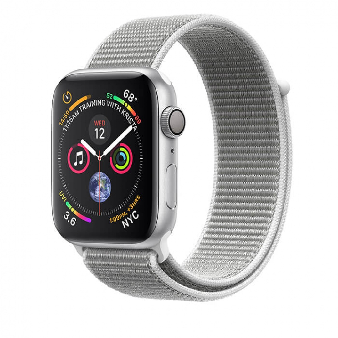 Apple Watch Series 4 Aluminum Case with Sport Loop