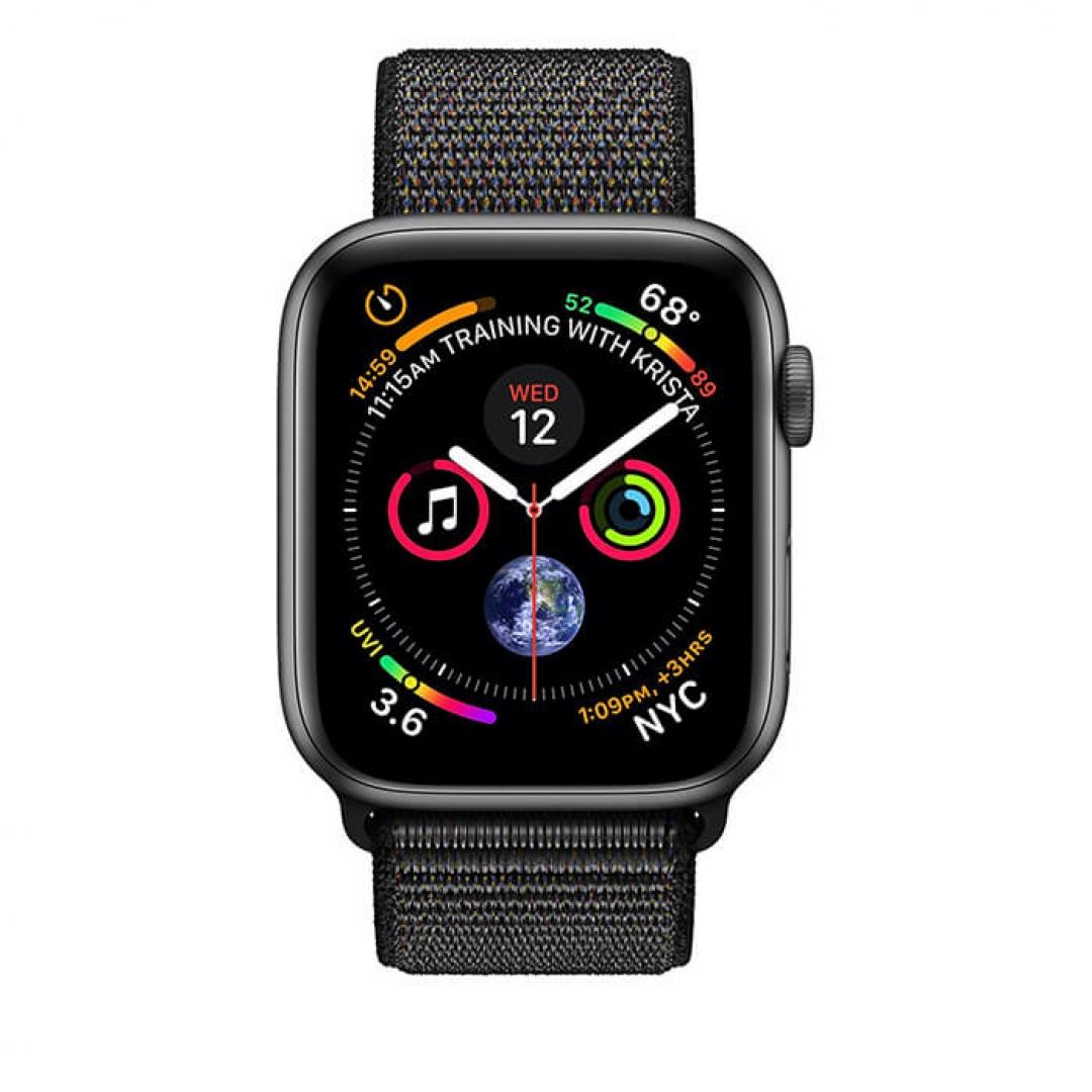 Apple Watch Series 4 Aluminum Case with Sport Loop