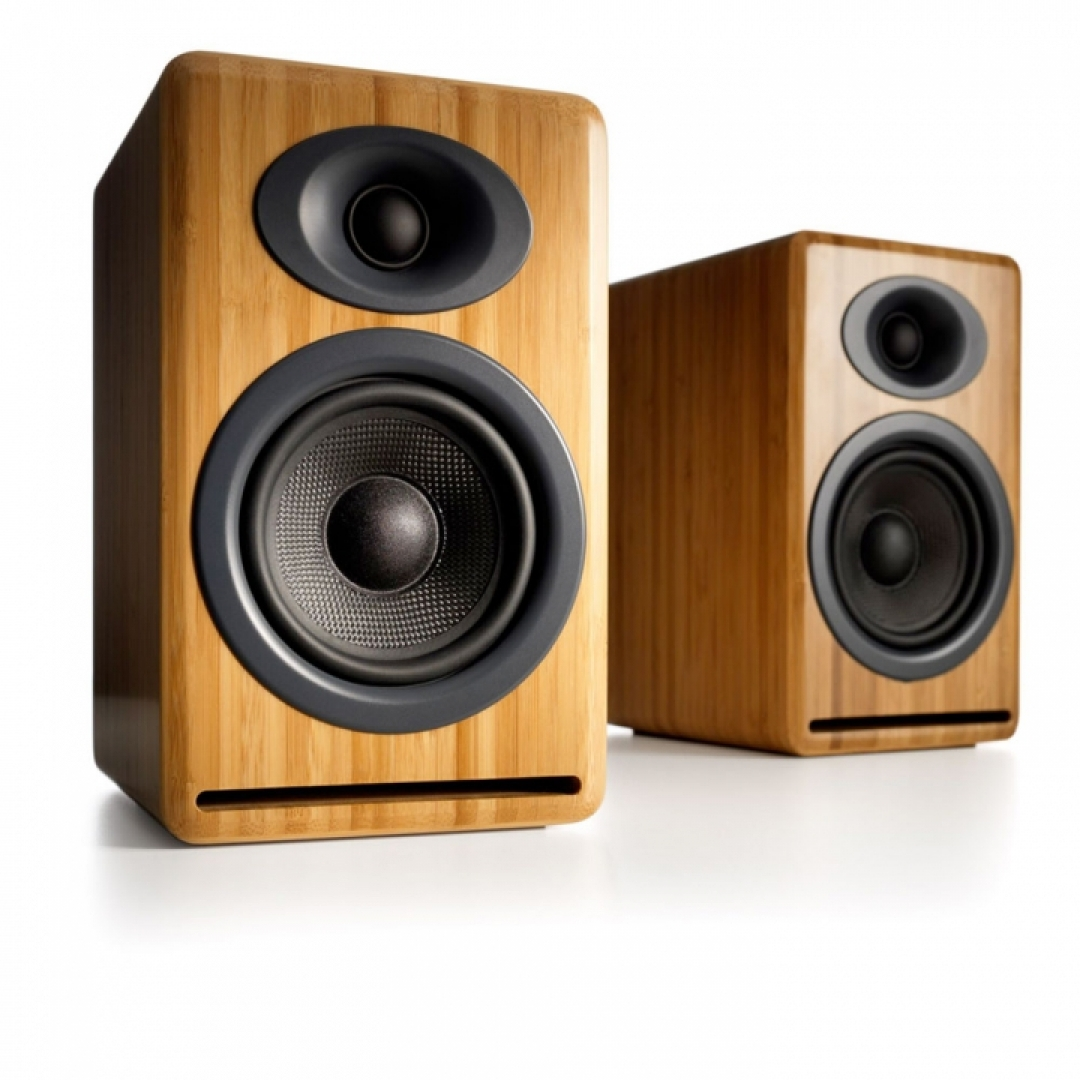 Audioengine A5+ Wireless (Bamboo)