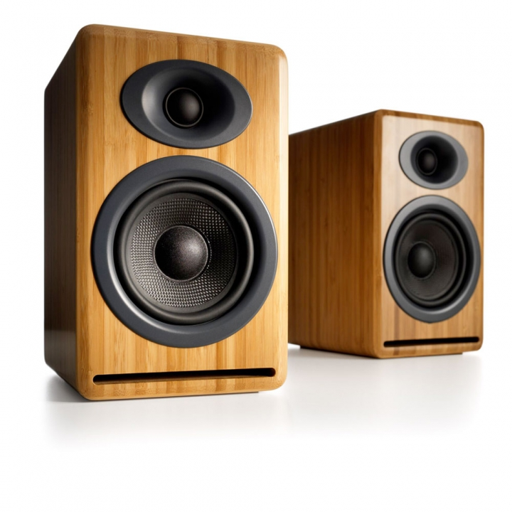 Loa Audioengine a5+ bamboo