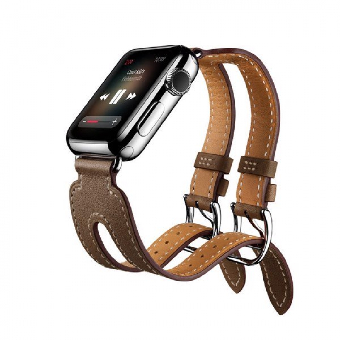 Apple Double buckle cuff