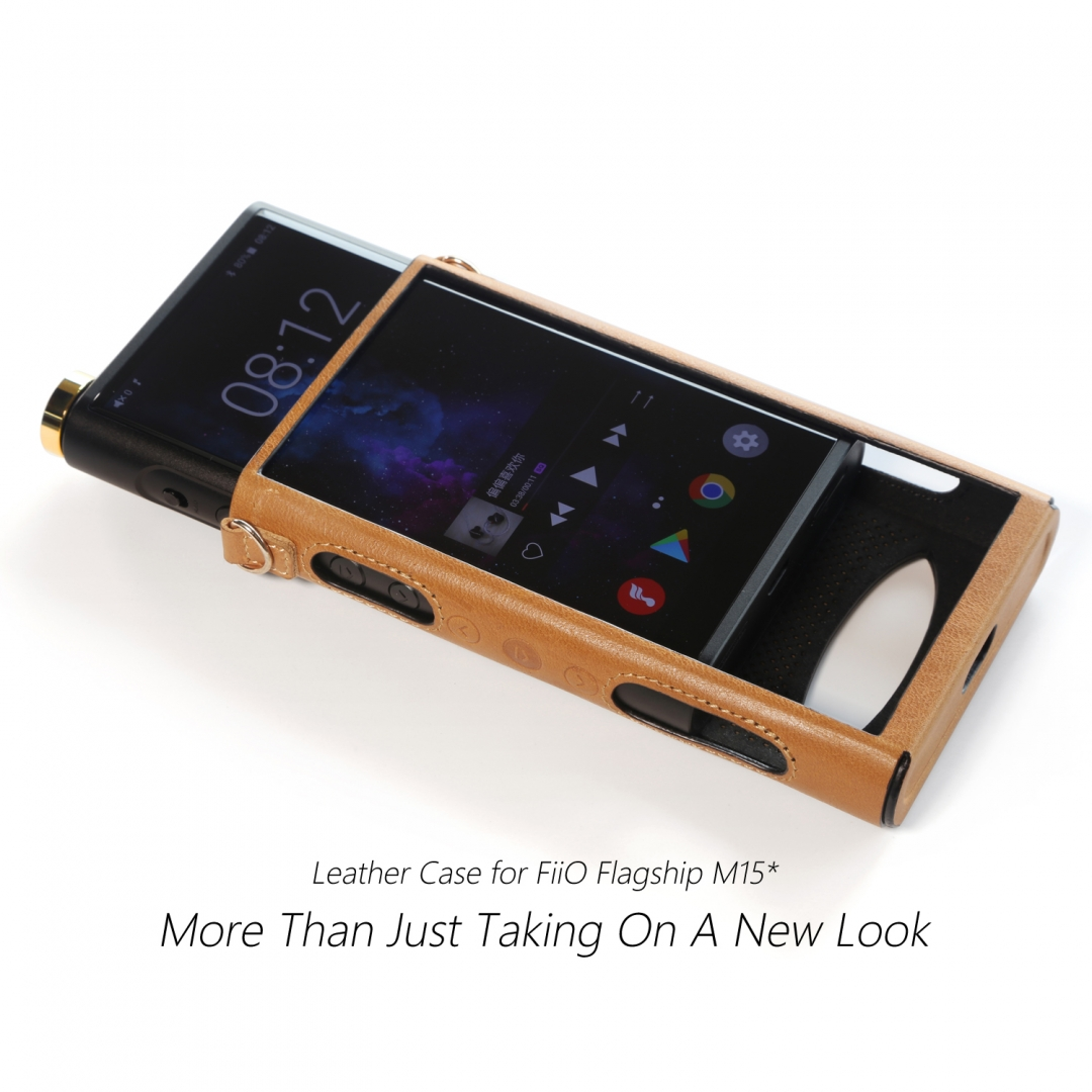 DDhifi C-M15 Leather case for FiiO M15