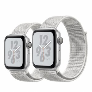 Apple Watch Series 4 Nike+ Aluminum Case with Sport Loop