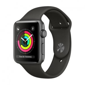 Apple Watch Series 3 GPS - Space Gray Aluminum Case with Gray Sport Band