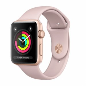 Apple Watch Series 3 GPS + Cellular - Gold Aluminum Case with Pink Sand Sport Band