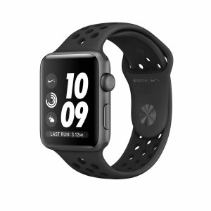 Apple Watch Series 3 GPS Nike+ Space Gray Aluminum Case with Anthracite/Black Nike Sport Band - 38mm