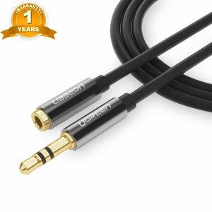 Cáp Audio 3.5mm Nối Dài 2M Ugreen 10594 Cao Cấp