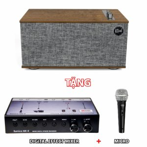 Combo Loa Klipsch The Three II Tặng 1 Bộ Mixer và Micro Karaoke
