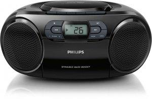 Máy CD Cassette Philips AZ100B/12 (Đen)