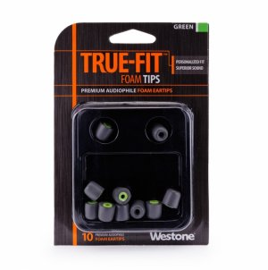 True-Fit Foam Eartips - Green