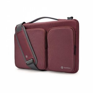 Túi chống sốc TOMTOC shoulder bags Macbook Pro 13 inch - New Dark Red A42-C02