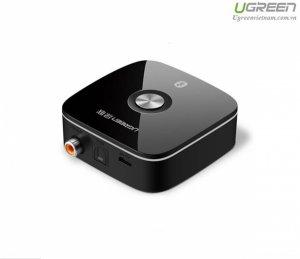 Ugreen 40855 Bộ nhận âm thanh Bluetooth Coaxial + cổng quang hỗ trợ APTX